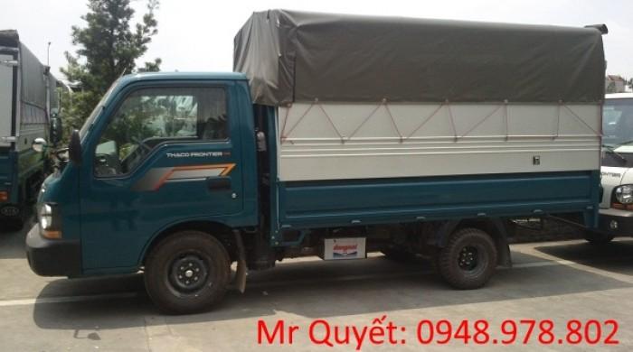THACO FRONTIER125 1,25 tấn thùng mui bạt