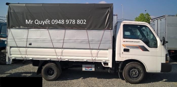THACO K190 1,9 tấn thùng mui bạt
