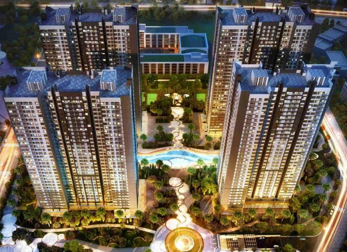 Cho thuê căn hộ cao cấp Park hill times city, S=53.3, giá 9tr/th