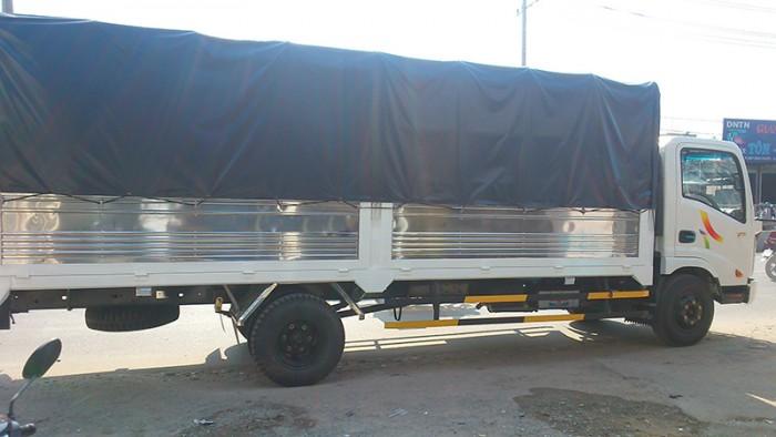 Xe tải 3,4 tấn thùng mui bạt dài 6m