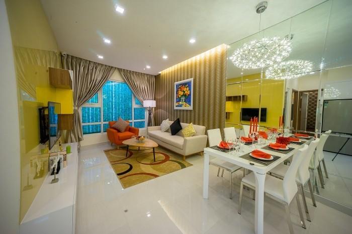 Sang nhượng căn 1PN (A8) dự án Summer Square gần VX Phú Lâm Quận 6, giá từ 1.219 tỷ.