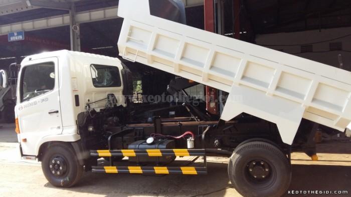 Bán xe tải Hino FC9JESW (4x2) 6.2 tấn thùng 4.4m Nhật Bản - Việt Nam 2016 giá 740 triệu