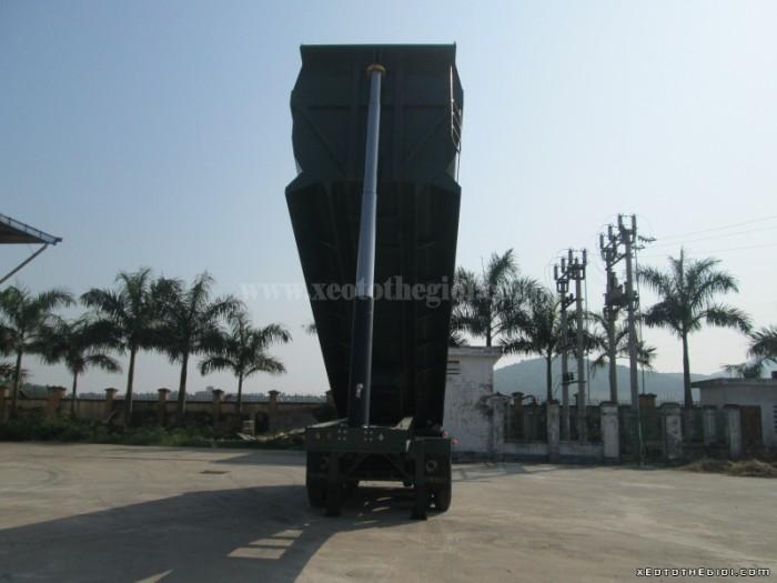 Bán Somi Rơ Mooc Ben trục nâng hạ, trục rút Doosung Hàn Quốc