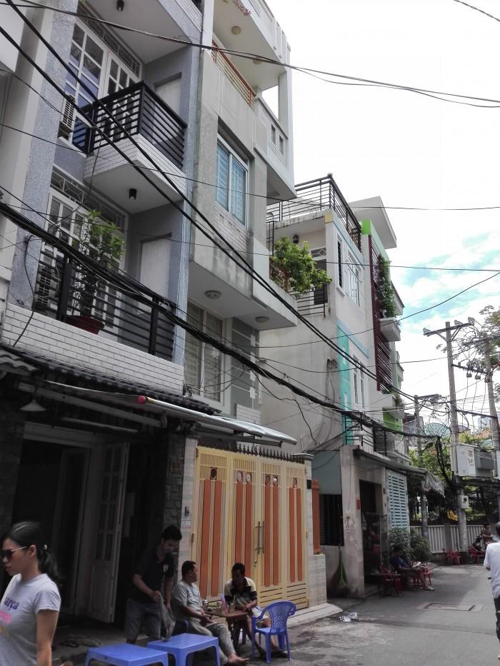 Kẹt tiền bán gấp nhà HXH đường Trần Đình Xu, Q.1. DT: 4m x 16m, Nhà Trệt, 3 lầu, Giá: 7.7 tỷ.