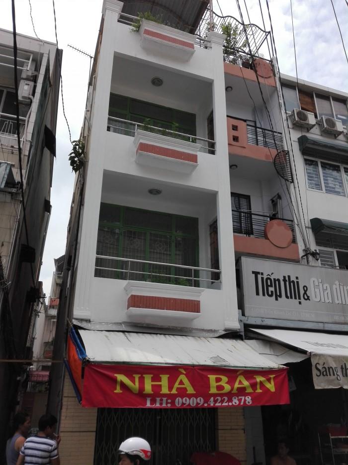 Kẹt tiền bán nhà gấp HXH đường Cao Thắng, Q.10, Trệt, 1 lầu,  DT : 5m x 12m, Giá: 6.6 tỷ