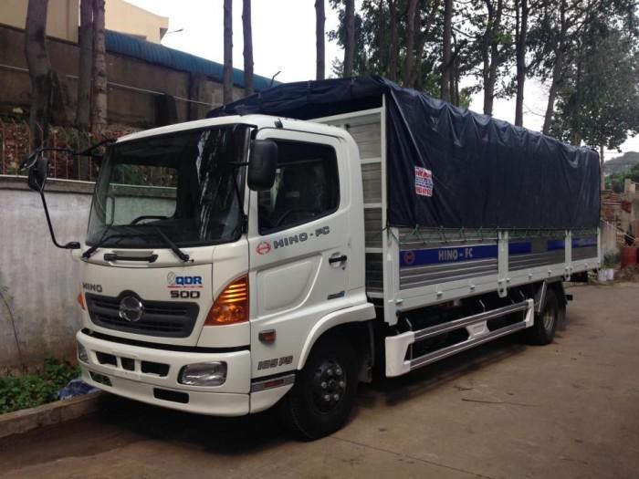 Chuyên cung cấp xe tải Hino 6.1 tấn FC9JESW thùng dài 4,4 m