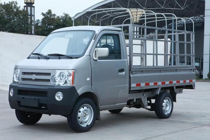 Xe tải dưới 1 tấn/ xe tải dongben thùng mui bạc/ Xe tải 810kg cần thơ, Bạc Liêu, Sóc Trăng.