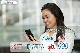 Thẻ cào data 3G mobifone