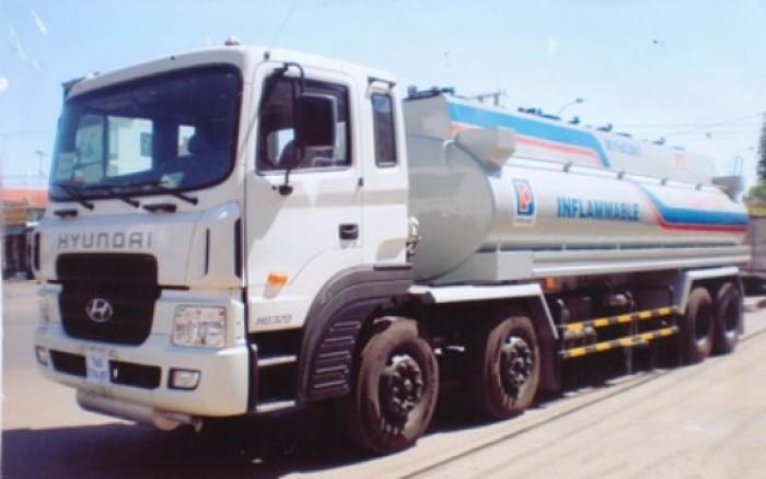 Xe bồn Hyundai thể tích 22m3 HD320 chở xăng dầu, cho vay và trả góp lãi suất thấp 1
