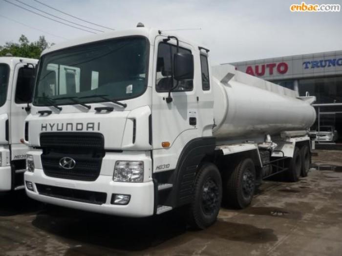Tổng đại lý Hyundai bán xe bồn Hyundai 22m3 HD320 chở xăng dầu