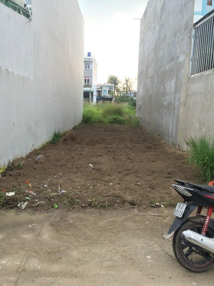 Bán gấp lô đất ngay UBND phường Thạnh Xuân, DT: (4.5x20)m, SHR. Giá: 1.1 tỷ