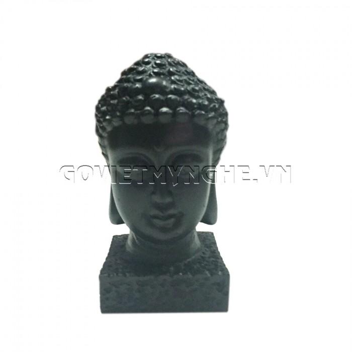 Tượng đá đầu phật thích ca 9cm - Đá Màu  + Kích thước: Dài 5cm x Rộng 6cm x Cao 9cm. Giá 150.000₫0