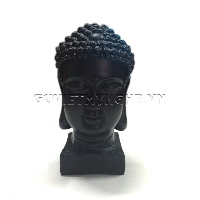 Tượng đá đầu phật thích ca 9cm - Đá Màu  + Kích thước: Dài 5cm x Rộng 6cm x Cao 9cm. Giá 150.000₫1