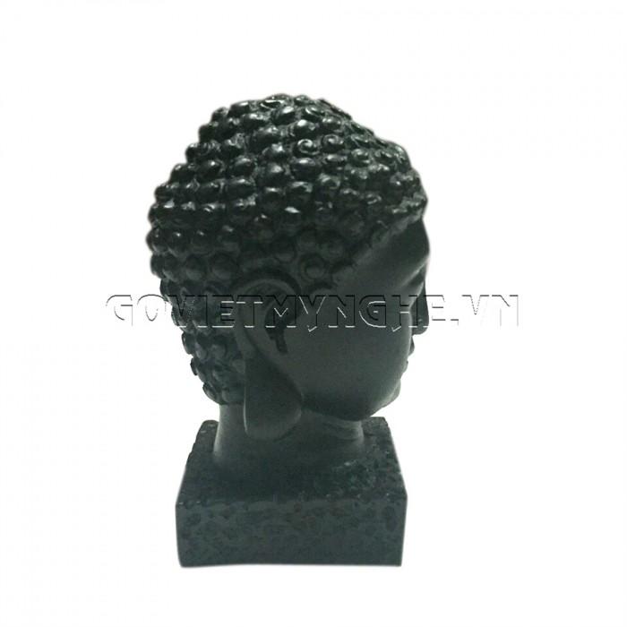 Tượng đá đầu phật thích ca 9cm - Đá Màu  + Kích thước: Dài 5cm x Rộng 6cm x Cao 9cm. Giá 150.000₫2