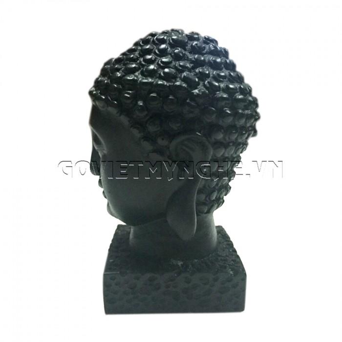 Tượng đá đầu phật thích ca 9cm - Đá Màu  + Kích thước: Dài 5cm x Rộng 6cm x Cao 9cm. Giá 150.000₫3