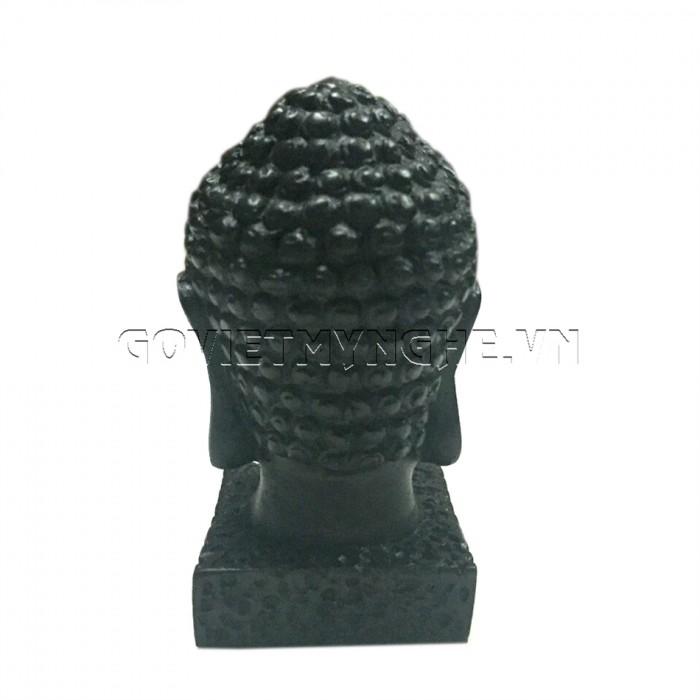 Tượng đá đầu phật thích ca 9cm - Đá Màu  + Kích thước: Dài 5cm x Rộng 6cm x Cao 9cm. Giá 150.000₫4