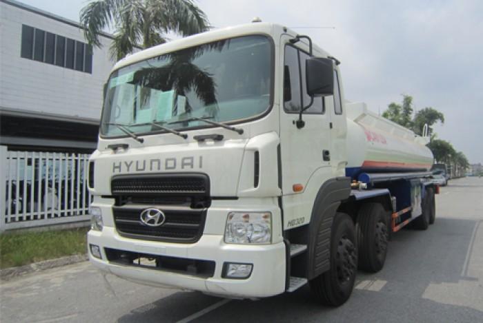 Bán xe xitec Hyundai HD320 22m3 chở xăng, giao xe toàn Quốc, giá rẻ