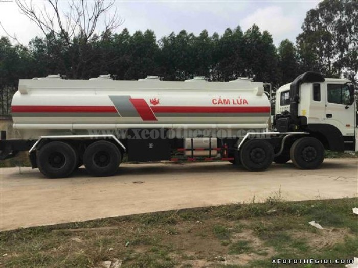 HD320 thùng chở xăng dầu thể tích 22 khối (m3), xe mới 2016