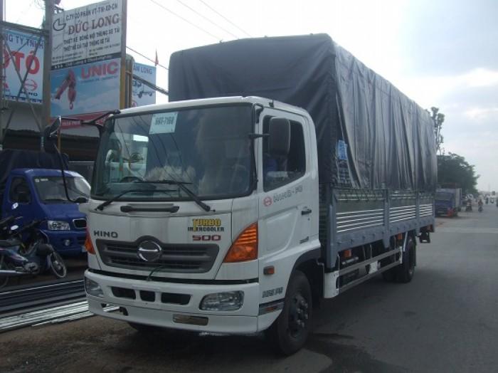 Xe tải Hino FC9JLSW 6T4 Thùng dài 6,7m – MỚi 100% - Giá rẻ