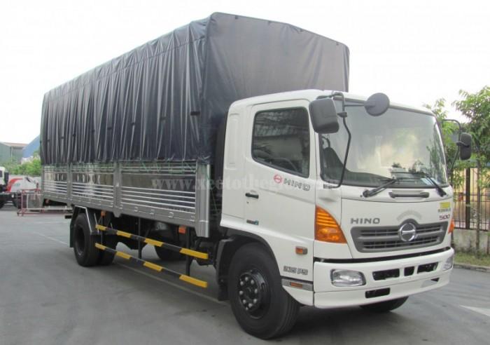 BÁn xe tải Hino FC9JLSW 6T4 Thùng dài 6,7m nhập khẩu 2016