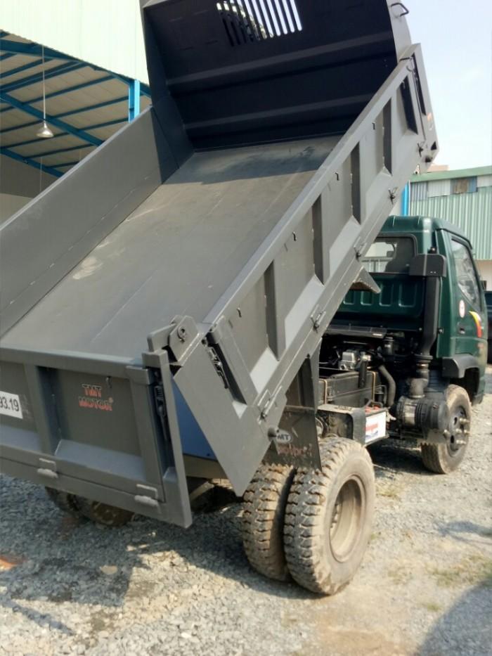 Xe tải ben tmt 3 tấn 5 động cơ huyndai giá rẻ