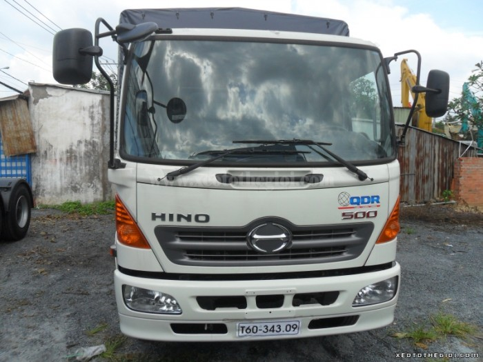 Xe tải Hino FC9JLSW 6T4 Thùng dài 6,7m – Hỗ trợ trả góp lãi suất thấp