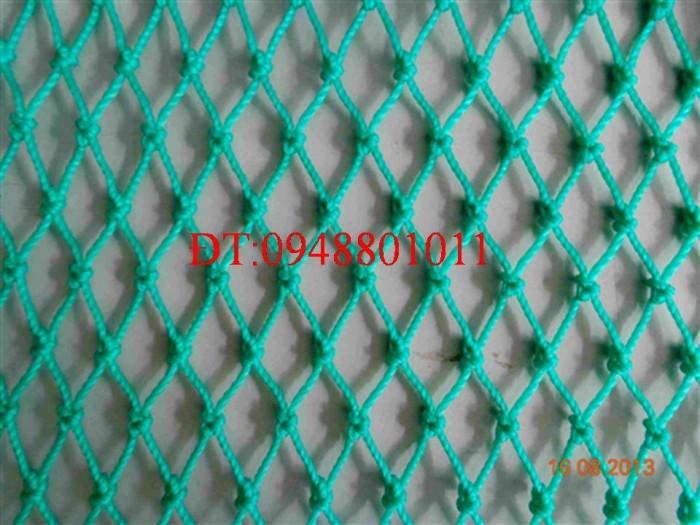 Lưới golf màu xanh