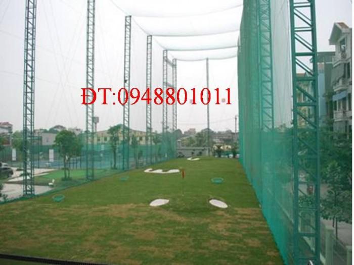Sân tập golf bao lưới