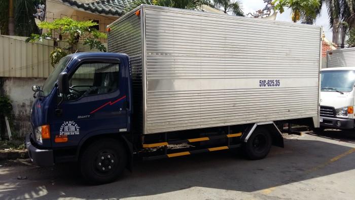Hyundai HD65 1,8 tấn thùng bạt