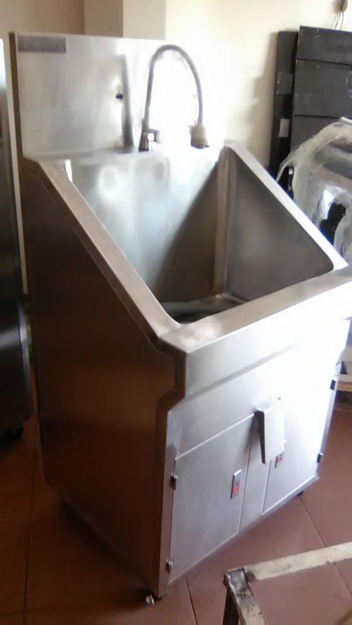 Bồn rửa tay phòng mổ 1 vòi cao cấp