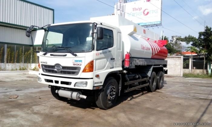 Bán xe tải Hino FM8JNSA thùng xitec chở xăng dầu 18 khối,  2016 giá 1 tỷ 500 triệu