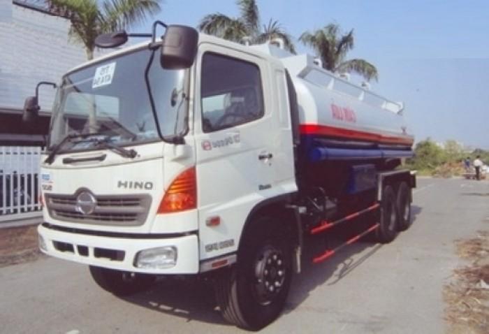 Xe  Hino FM8JNSA chở xăng, chở dầu 18m3 (24 tấn), trả góp không thế chấp