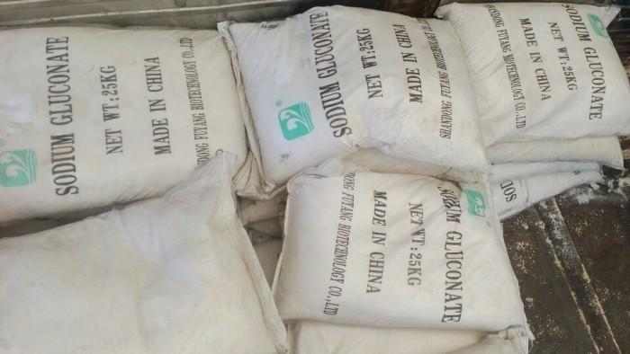 Sodium Gluconate, chất phụ gia bê tông, chất tảy rửa, sản phẩm tốt nhất