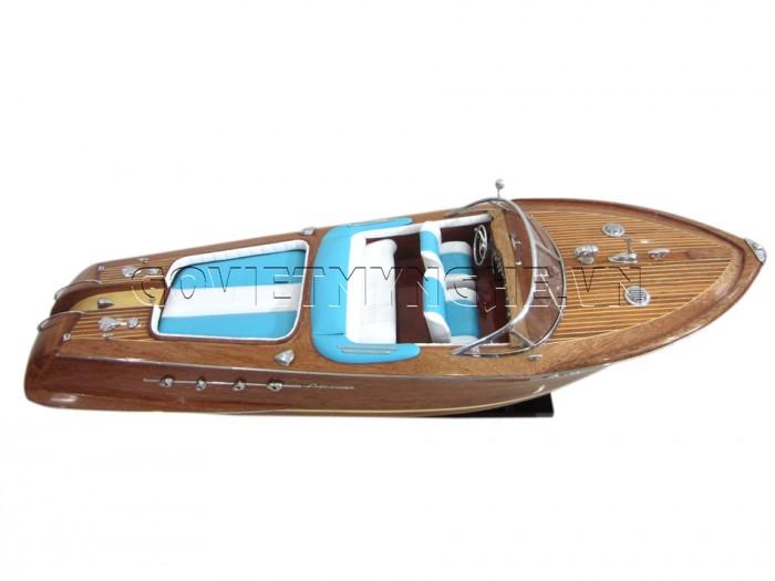 Mô hình Speed Boat Riva Aquarama 67cm5