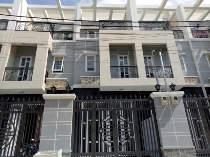 Bán nhà phố đường Tô Ngọc Vân, P.Thạnh Xuân Q12