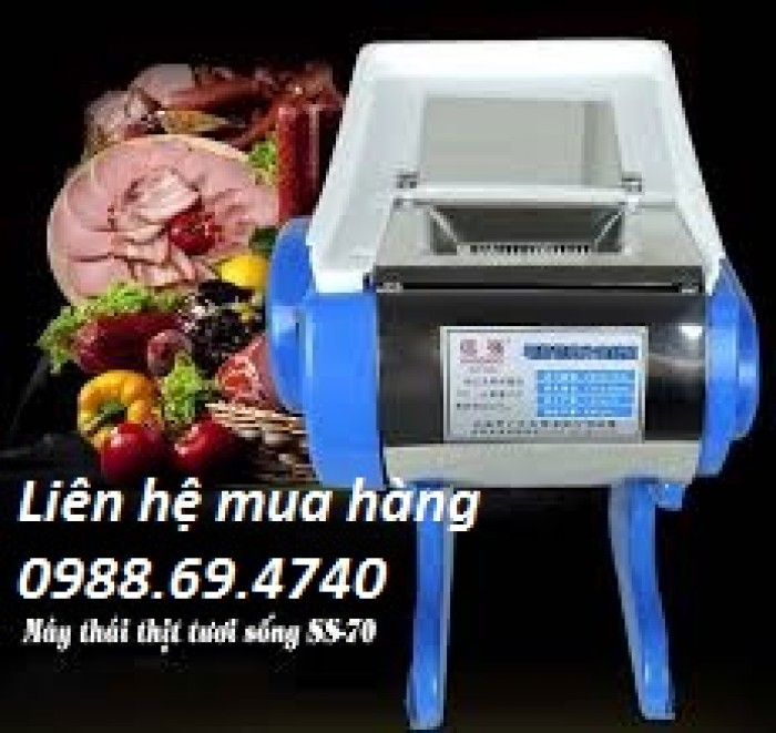 Máy thái thịt tươi sống SS702