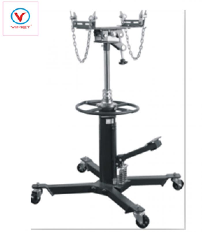 Giá  đỡ hộp số 2 Ty-Ben 600kg VIMET VDHS0505  Giá khuyến mãi : 5,260,000 (từ nay đến 12/2016)  Chiều cao nhỏ nhất: 870mm Chiều cao lớn nhất: 1795mm G.W.: 68kg   N.W.: 59kg  Kích thước tổng thể: 780x680x960mm kích thước đóng gói: 520x230x800mm