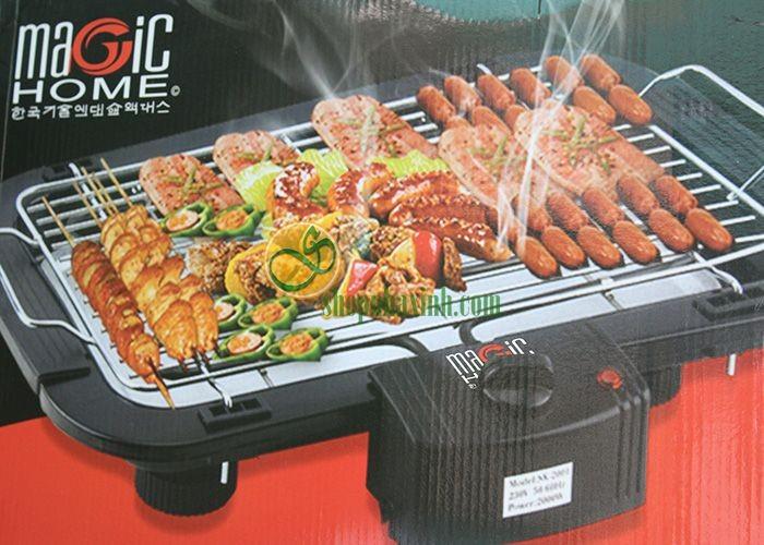 Bếp Nướng Điện Không Khói BBQ Magic Home Hàn Quốc NX9265