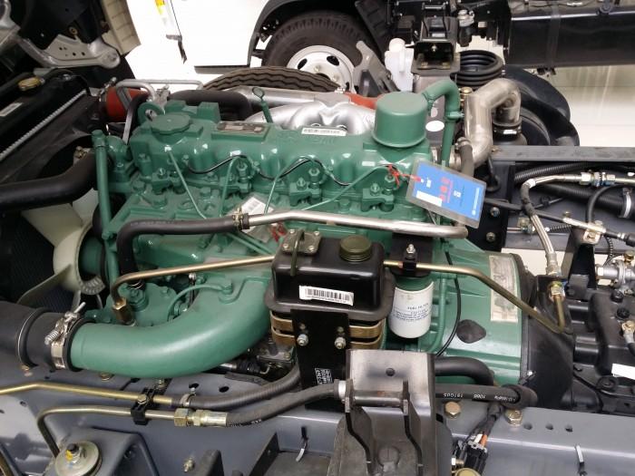 Động cơ Faw công suất lớn mạnh mẻ, tiết kiệm nhiên liệu