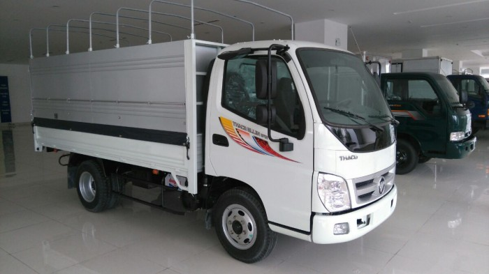Thaco Tây Ninh, Xe tải Ollin 2 tấn 4, Oliin 345 2T4, Ollin 2T4, Ollin mẫu mới ra, xe Ollin giá rẻ, Ollin chạy trong TP, tặng 100% lệ phí trước bạ.