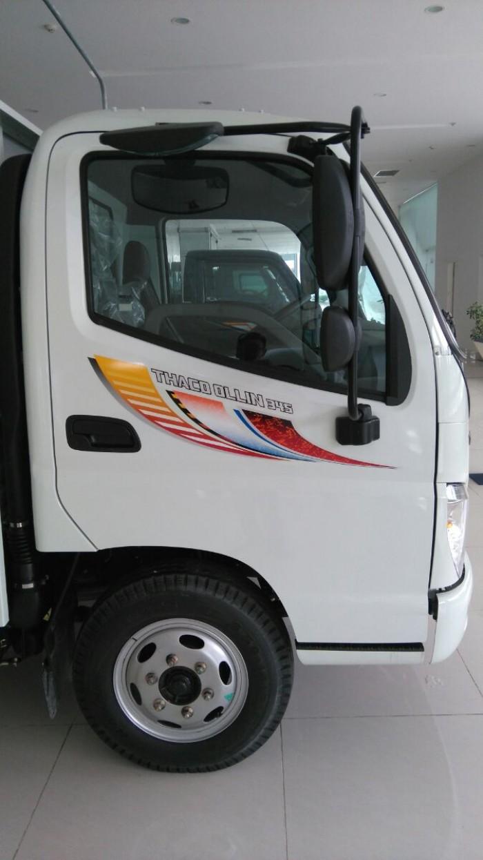 Tây Ninh chuyên cung cấp các dòng xe Ollin từ 2t4 đến 10 tấn,Xe tải Thaco Ollin 2t4,tặng 100% lệ phí trước bạ.