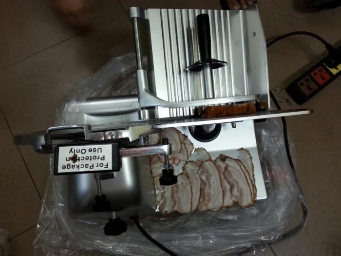 Cung cấp máy thái thịt đông lạnh chạy điện ES250, máy thái đồ nướng-lẩu giá rẻ