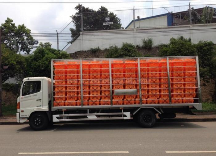 Bán xe Chở Gà Lồng 5 tấn, Hino FC thùng chở Gia cầm – HỒ CHÍ MINH