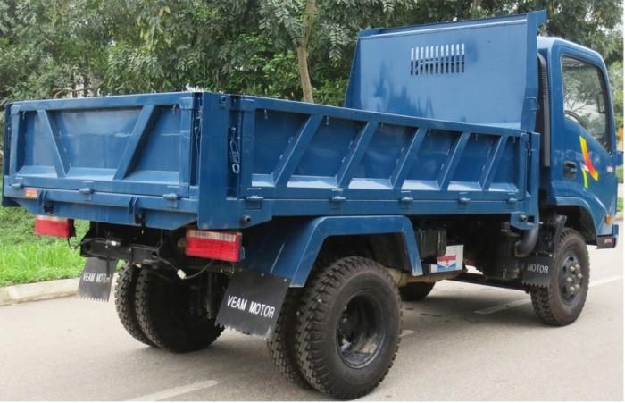 Xe ben Veam 3,5 tấn; máy, cầu hộp số Hyundai bền bỉ 1