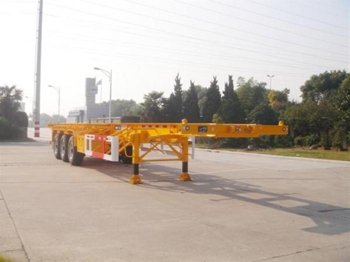 Bán sơ mi rơ mooc  xương 40 feet hiệu CIMC , 3 trục , nhập khẩu Hàn quốc.