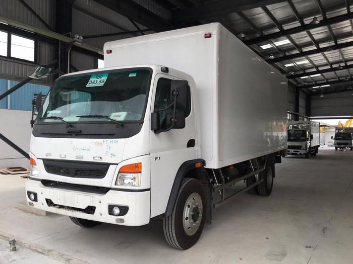 Bán xe fuso fighter fi12r tải trọng 7 tấn 25 thùng mui bạt, nhập khẩu nguyên chiếc