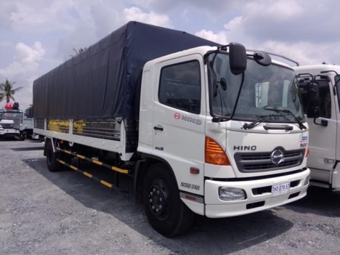 Hino chở gia cầm 6 tấn, xe tải hino chở gia cầm , hino chở gia súc