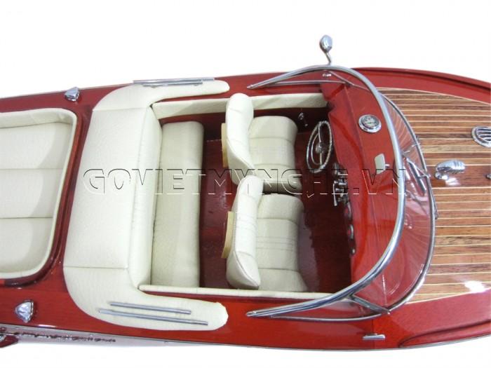 Mô hình Speed Boat Riva Aquarama 67cm4