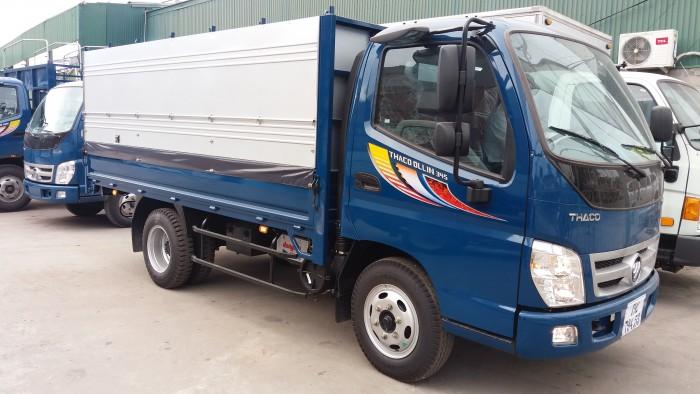 hình ảnh xe tải Ollin 2.4 tấn hải phòng