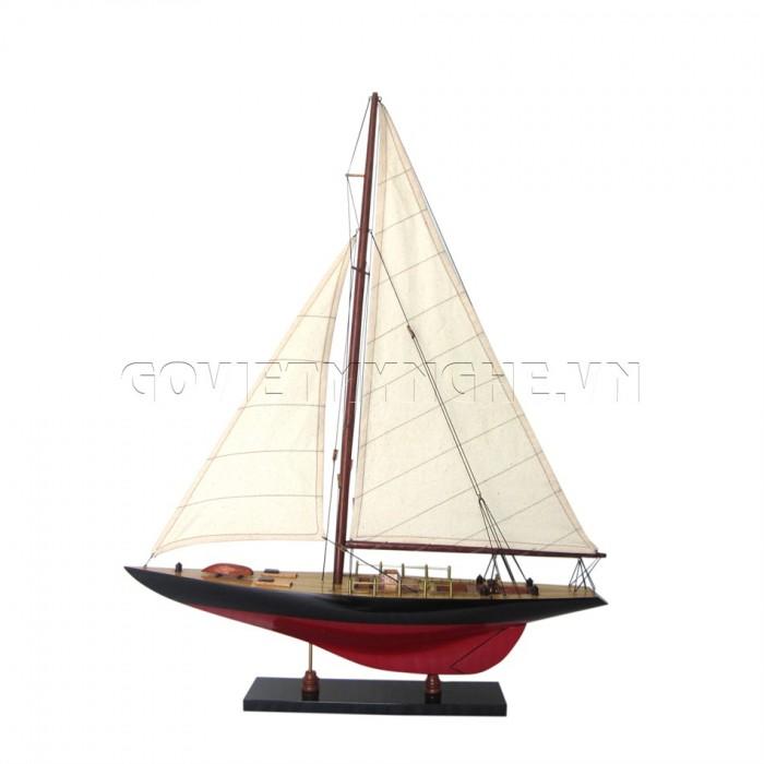 Mô hình du thuyền gỗ Columbia 50cm0
